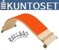Доска для пресса KUNTOSET Bodybow Curved Board B115