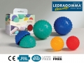 Мяч для массажа и самомассажа LEDRAGOMMA Activa
