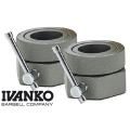 Замки олимпийские IVANKO CO-2.5KG/GY пара