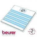 Весы дизайнерские BEURER GS20 SUMMER SKY