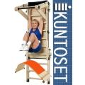 Спортивный уголок KUNTOSET MultiTrainer M235 с доской для пресса