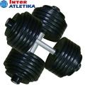 Гантель профессиональная INTER ATLETIKA ST550 3-70 кг