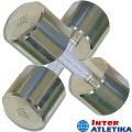 Гантель хромированная INTER ATLETIKA ST540 0.5-10 кг