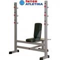 Скамья для жима со стойками INTER ATLETIKA GYM ST/BT307