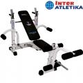 Скамья для жима со стойками INTER ATLETIKA OPTIMA ST005.1