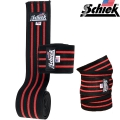 Бинты наколенные черные SCHIEK Line Knee Wraps 1178R