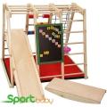 Спортивный детский уголок SportBaby Ромашка 120см