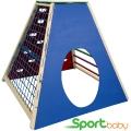 Спортивный детский комплекс для дома и улицы SportBaby Пирамида