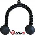 Ручка канатная для тяги RDX Heavy Duty Black Tricep Rope