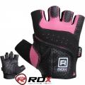 Женские перчатки для фитнеса RDX Ladies Lifting Gloves Pink