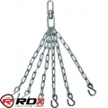 Крепления-цепи для боксерского мешка на 6 колец RDX С6