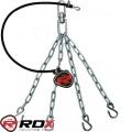 Крепления-цепи и резиновый жгут для боксерского мешка RDX CKGR