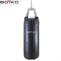 Мешок боксерский из кожи 3-4 мм на пружинах  BOYKO SPORT Ø 35 см