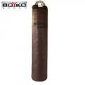 Цилиндрический боксерский мешок из ременной кожи BOYKO SPORT
