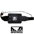 Пояс для отягощений кожаный BAD BOY Dipping Belt Leather