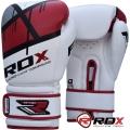 Боксерские перчатки RDX Rex Leather Red