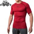 Компрессионная футболка PERESVIT Air Motion Short Sleeve Red