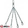 Крепления-цепи для детского боксерского мешка на 4 кольца RDX С4