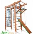 Спортивный детский уголок с рукоходом SportBaby Гимнаст 5-220-24