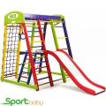 Спортивный детский уголок SportBaby Акварелька Plus2