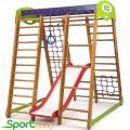 Спортивный детский уголок SportBaby Карапуз Plus1