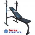 Скамья для жима со стойками INTER ATLETIKA COMPACT ST003