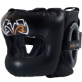 Боксерский шлем с пластиковым бампером RIVAL RHGFS3