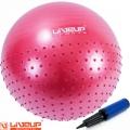 Массажный мяч с насосом LIVEUP SPORTS LS3569 Ø65 см