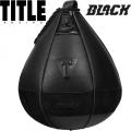 Боксерская скоростная груша TITLE BLACK TB-i1115