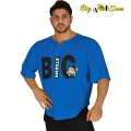 Мужская тренировочная топ-футболка BIG SAM 3220