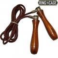 Утяжеленная кожаная скакалка RING TO CAGE RTC-7011