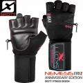 Кожаные перчатки для фитнеса SKOTT NEMESIS SF-10007