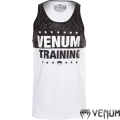 Майка VENUM Training Tank Top Ice Black