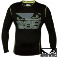 Рашгард BAD BOY Carbon Neon LS