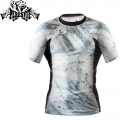Рашгард PERESVIT Immortal Silver Rashguard Short Sleeve Snow