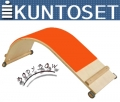 Доска для пресса KUNTOSET Bodybow Curved Board B115