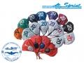 Набор шапочек для водного поло SPRINT AQUATICS 12шт.