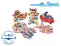 Доска для плавания SPRINT Play Shape Kickboard