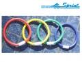 Набор развивающий для плавания SPRINT (кольца)