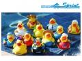 Набор резиновых игрушек SPRINT (12 шт.)  Уточки