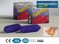 Ролики для массажа LEDRAGOMMA Twin-Roll пара