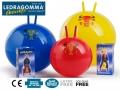 Мяч попрыгунчик Фитбол с Рожками LEDRAGOMMA Globetrotter