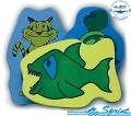 Доска для плавания SPRINT Animal Kickboard