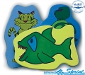 Доска для плавания SPRINT AQUATICS Animal Kickboard