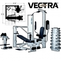 Силовой комплекс VECTRA FITNESS ON-LINE 1450 2-х сторонний