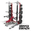 Силовая полустойка базовая HAMMER STRENGTH HD Elite HDEHR