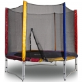 Батут с сеткой KIDIGO Ø244 Trampoline safety net