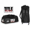 Спортивная сумка-рюкзак TITLE MMA World Champion Sport Bag