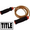 Скоростная скакалка TITLE Classic Ropes с утяжелителями