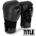 Боксерские перчатки TITLE BLACK Boxing